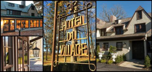Hotel du Village Collage header