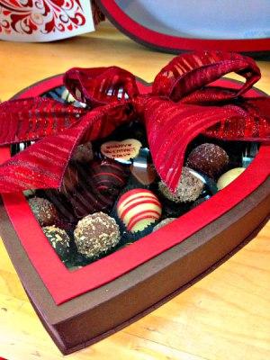 Raymer's chocolate heart box, Raymer's