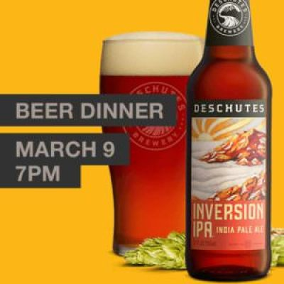 Beer Dinner, Riegelsville Inn Facebook