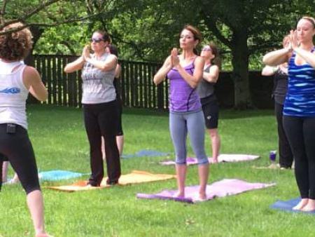 Yoga, Crossing Vineyards Facebook