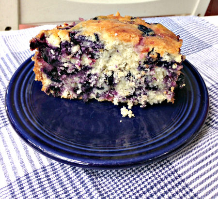 Blueberry Buckle; photo credit Lynne Goldman