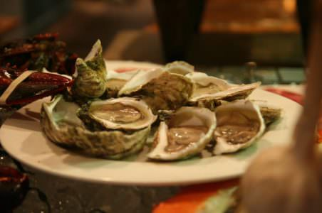 Oysters, Hamilton's Grill Room
