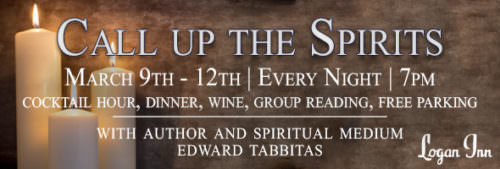 Call Up the Spirits at the Logan Inn; Bucks County food events