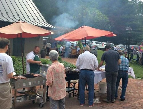 BBQ at Lumberville General Store; photo courtesy of Lumberville General Store