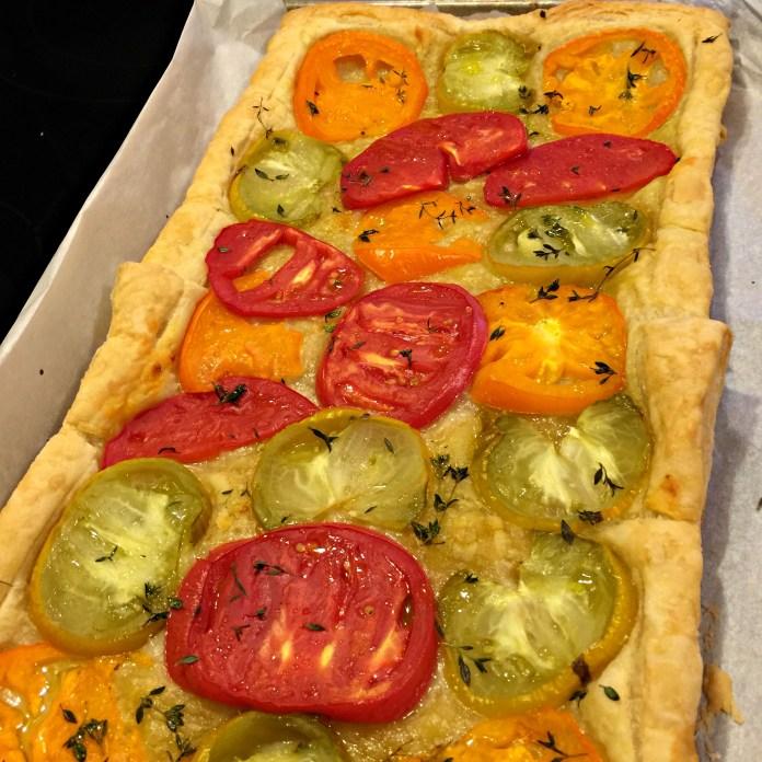 Tomato Tart; photo credit Lynne Goldman