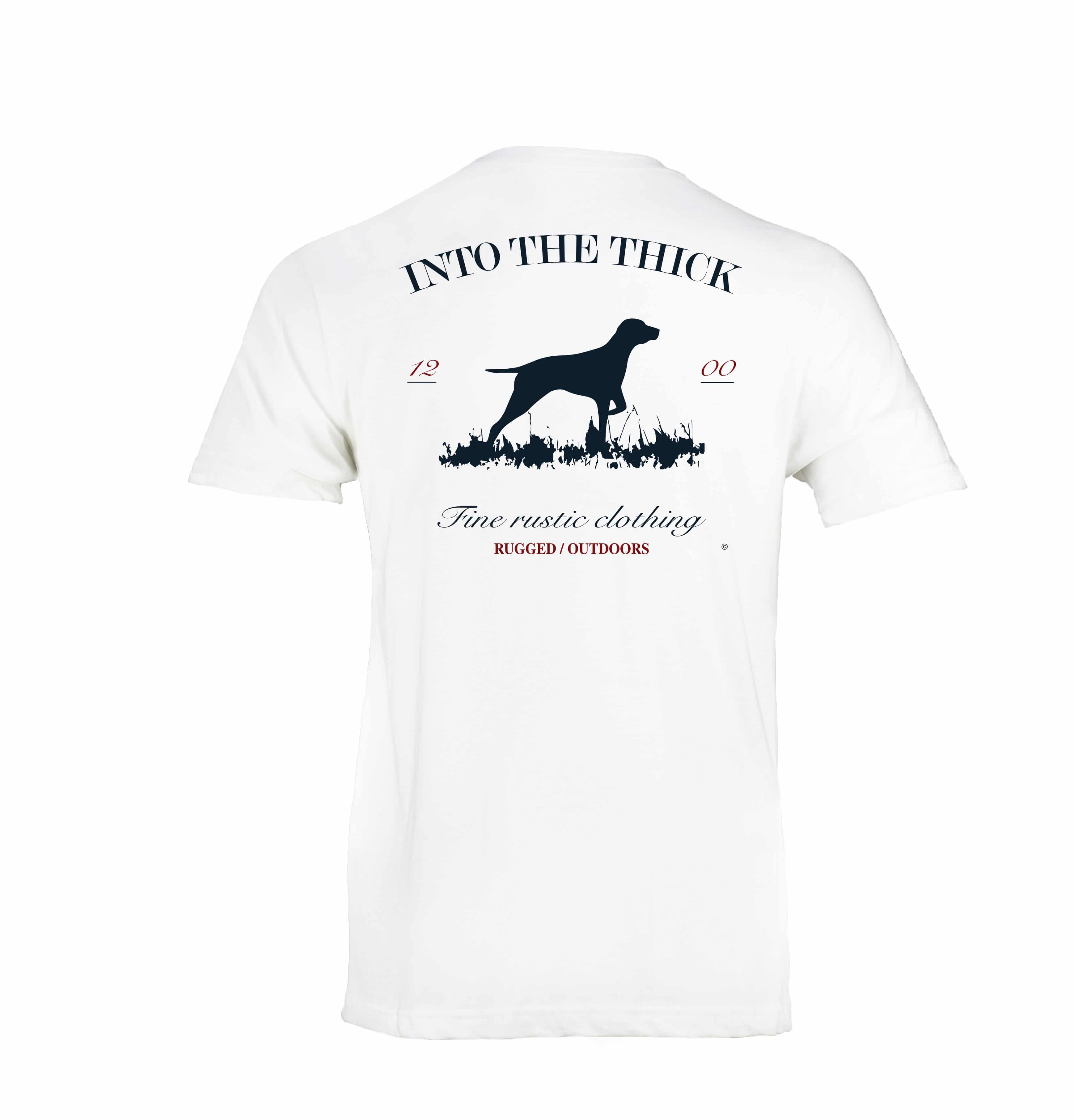 Into The Thick Pointer Pocket T Shirt