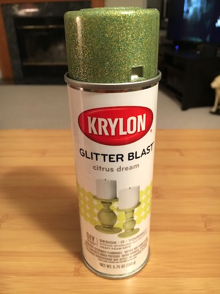 Krylon Glitter Blast spray paint