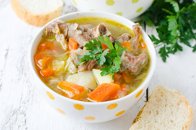 Wild Turkey Vegetable Soup