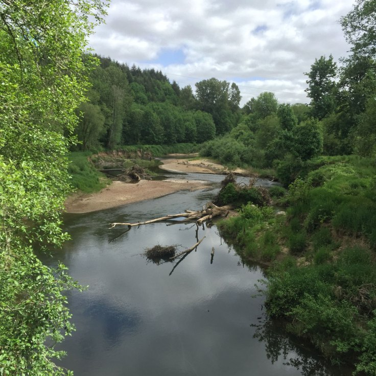 Nahalem river crossing