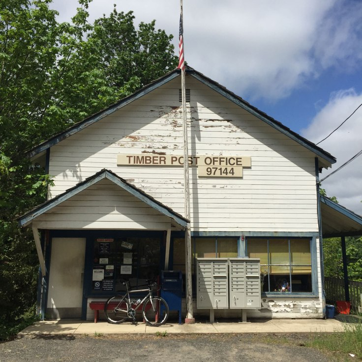 Timber Post office