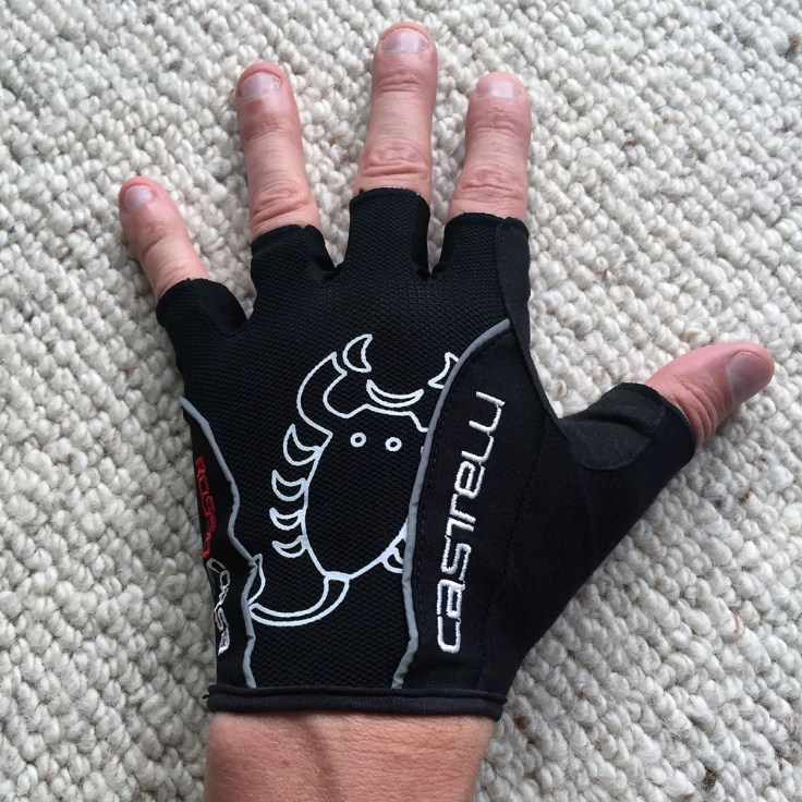 Castelli Rosso Corsa cycling gloves