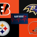 AFC North injury list