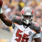 The Buccaneers defense is getting to the quarterbacks.