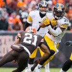 Steelers win over Browns: Roethlisberger in for injured Landry Jones