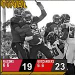 The Bucs Win!