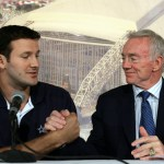 Tony Romo is cool with Jerry Jones drafting a QB