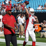 Byron Leftwich hired by the Cardinals as QB Coach.
