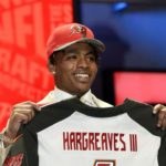 Vernon Hargreaves named to PFWA'S ALL-ROOKIE TEAM.