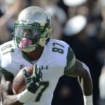 Buccaneers will work out USF receiver Rodney Adams.