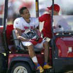 """Hey Jude"" to have an MRI and Brent Grimes carted off practice field."