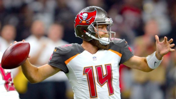 meet 28f9e e7b98 Ryan Fitzpatrick's Jersey Placed in Hall of Fame - Bucs Report