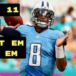 NFL: Fantasy Football Week Eleven Start 'Em 'n' Sit 'Em
