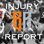 Week 15 Injury Report: Wednesday