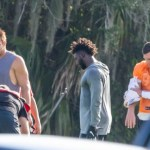Buccaneers Players Hold Another Practice