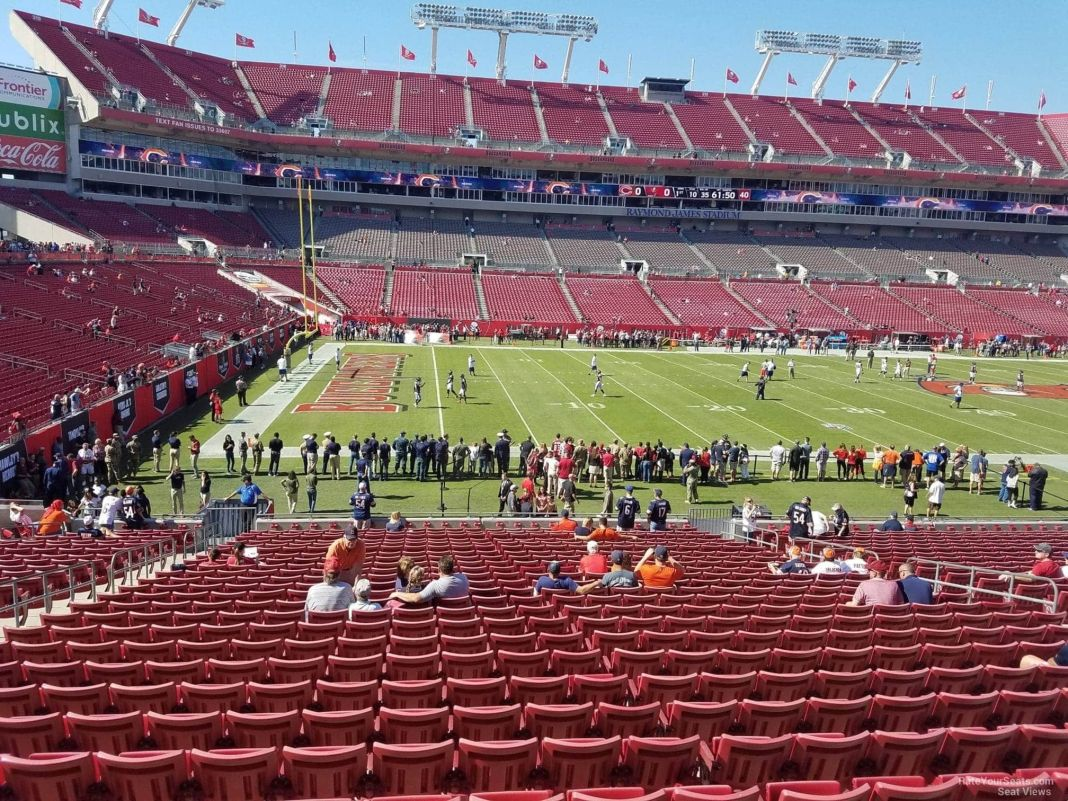 Raymond James Stadium/via rateyourseats.com