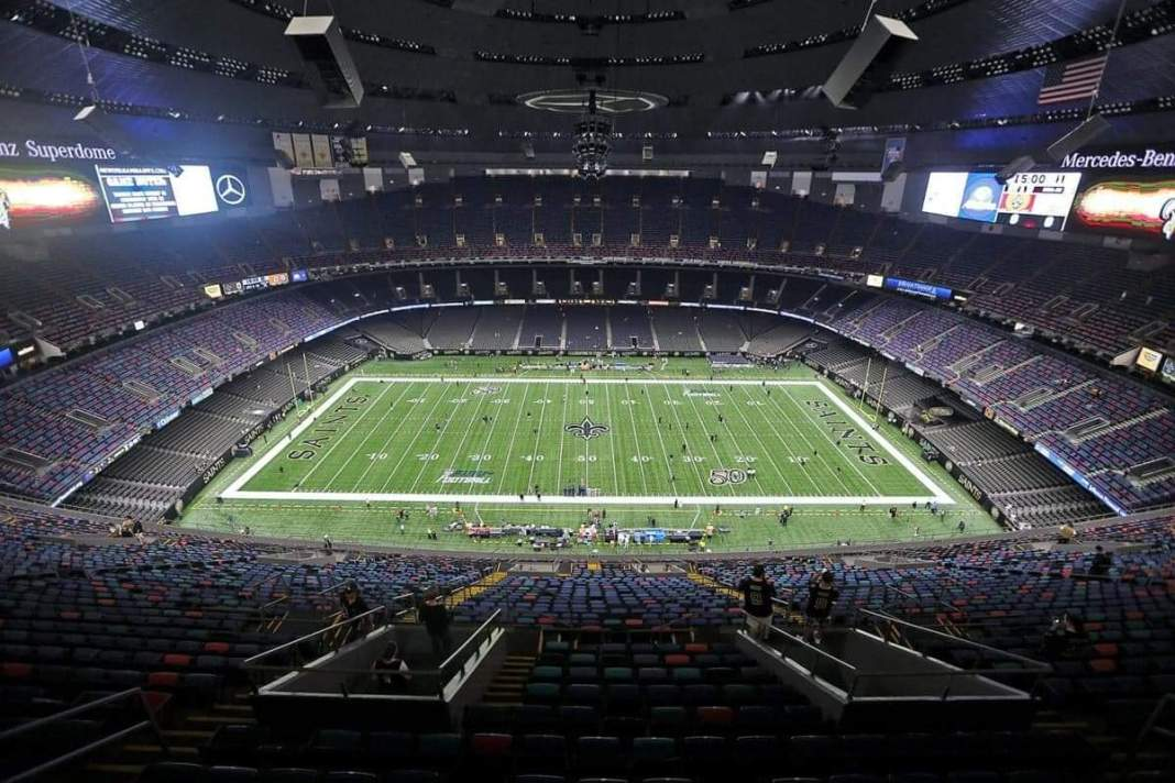 Mercedes Benz Stadium/Photo by Michael DeMocker, NOLA.com| The Times-Picayune