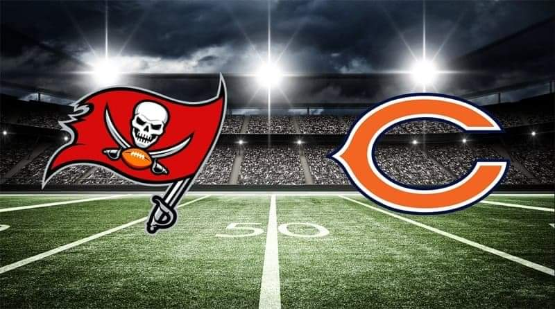 Buccaneers vs. Bears/ via ATS.io