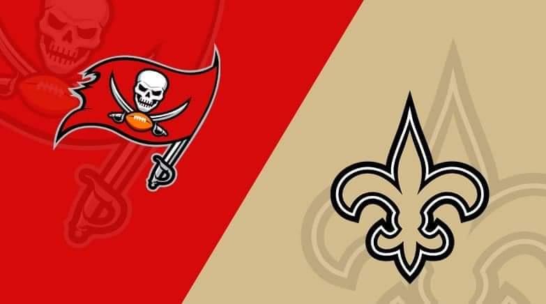 Buccaneers vs. Saints/via lineups.com