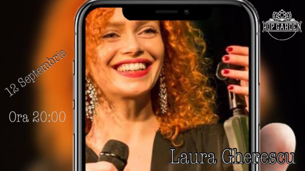 Muzica live la Hop Garden, cu Laura Gherescu