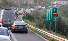 Accident in lant pe Autostrada Soarelui! Cozile de masini se intind pe cativa kilometri!
