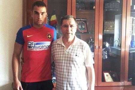 Steaua l-a transferat pe fiul lui Anghel Iordanescu!