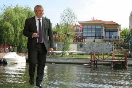 Casa lui Tariceanu, cat e de mare? De ce ii fuge lui Tariceanu pamantul de sub picioare? Alta intrebare…