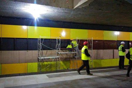 Ultimele retusuri! Maine se deschid traficului statiile de metrou Laminorului si Straulesti!