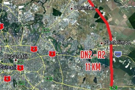 Licitatie de 75 de milioane de euro pentru largirea la patru benzi a 11,5 km din Centura Capitalei!
