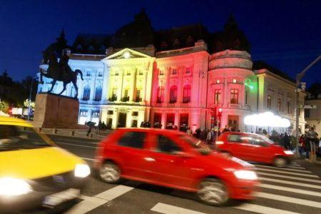 Traficul pe Calea Victoriei se inchide joi. Incepe Festivalul International de Lumini SPOLIGHT!