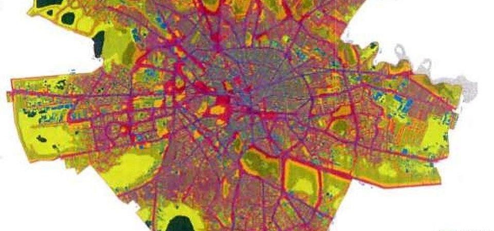 Harta de zgomot a Bucurestiului: E ca la nebuni!