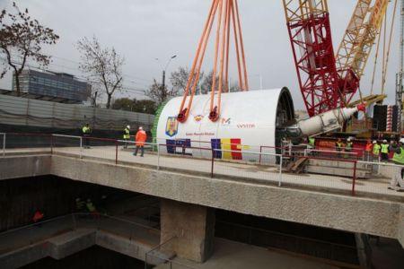 UE pompeaza inca un sfert de miliard de euro in metroul din Drumul Taberei! La anul in vara ar trebui inaugurat