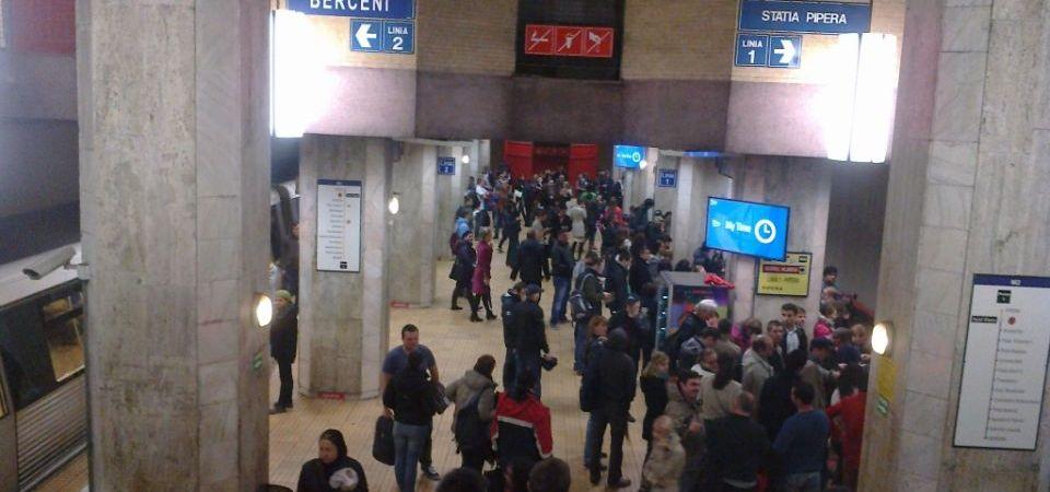 Metrorex redeschide astazi statia de metrou Pipera