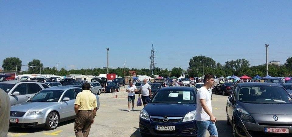 O armata de politisti a luat cu asalt ieri Targul Vitan!