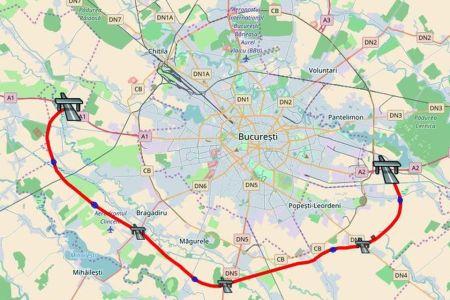 Autostrada A0, noua Centura Sud a Bucurestiului, scoasa la licitatie! Vezi traseul si cand va fi gata!