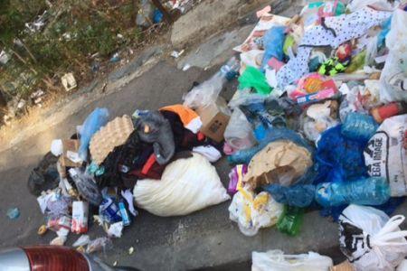 Munti de gunoaie aruncate in strada, in Sectorul 2: Acestia sunt oamenii!