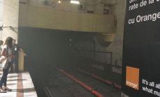 Fum in statia de metrou Piata Victoriei. Metrorex spune ca e totul sub control