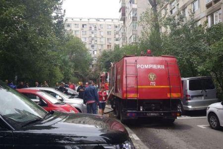 Un barbat a murit intr-un incendiu in cartierul Militari