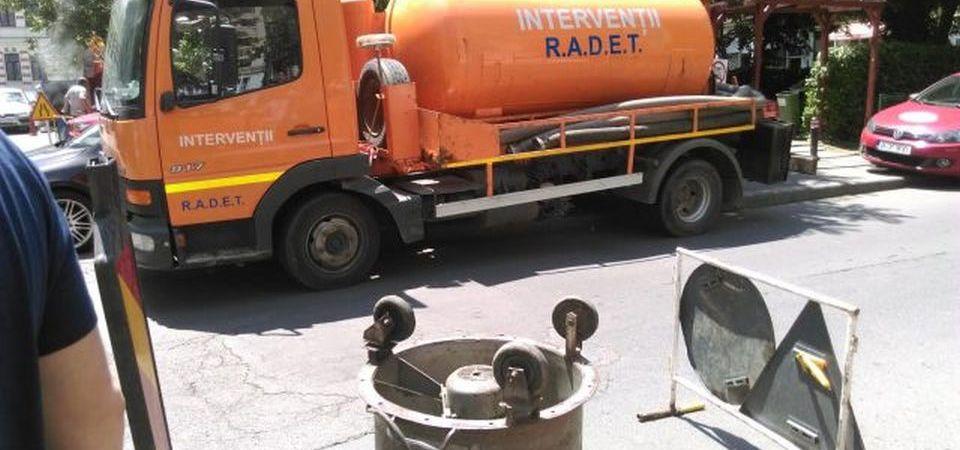 RADET incepe reparatiile la conducetele de caldura. Traficul va fi afectat!