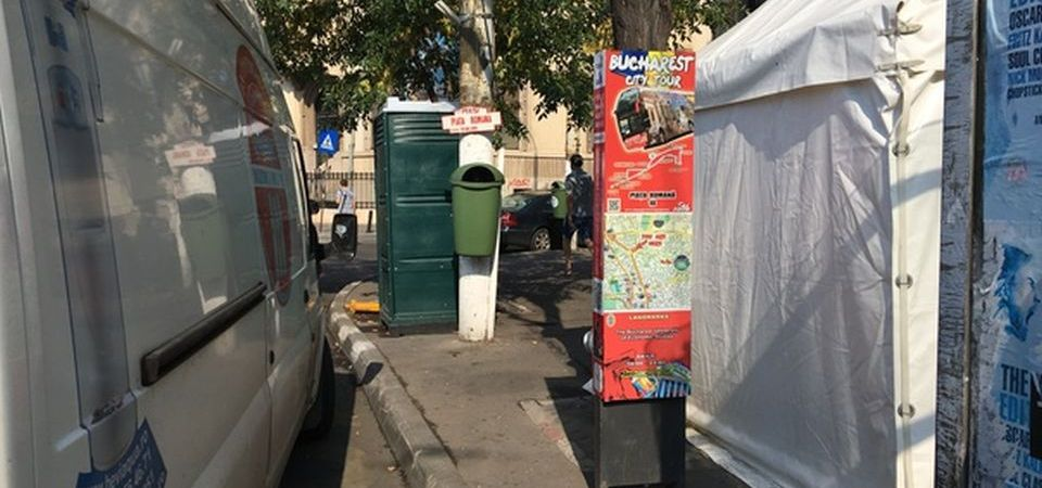 Primaria Capitalei cheltuie 56 de milioane pentru intretinerea toaletelor publice. O treime din ele au fost vandalizate sau furate!