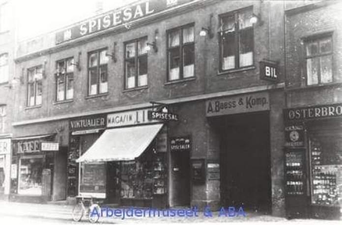 Nordre Frihavnsgade 24 Østerbro. 1926